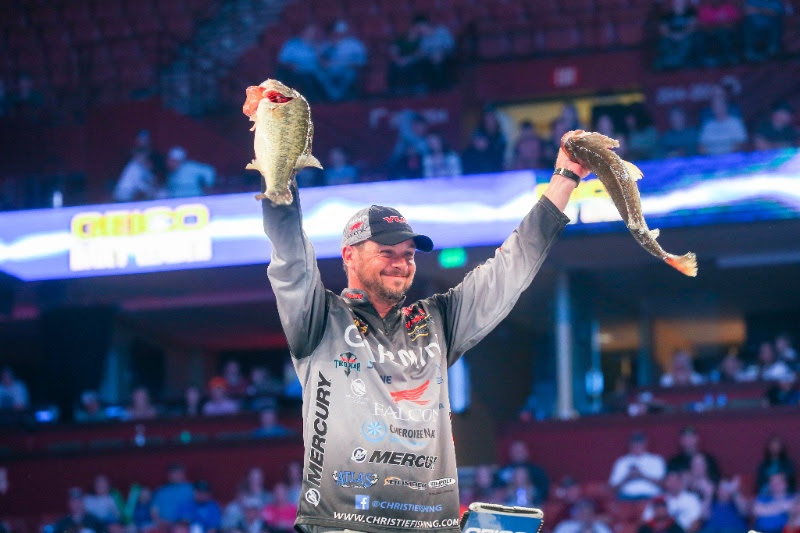Oklahoma Anglers Lead The Way After Bassmaster Classic's First Round On Lake Hartwell