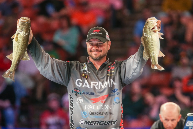Christie And Evers Still Top The Bassmaster Classic Leaderboard On Lake Hartwell