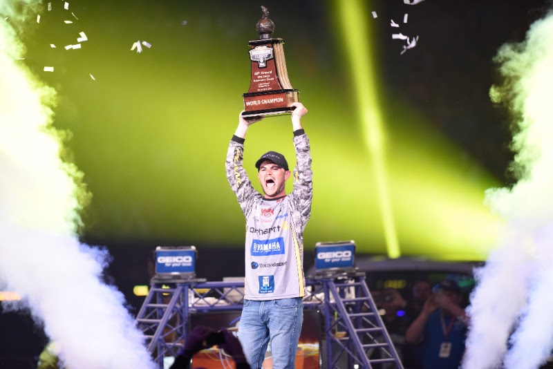 Jordan Lee Becomes Third Angler To Score Back-to-Back Bassmaster Classic Victories